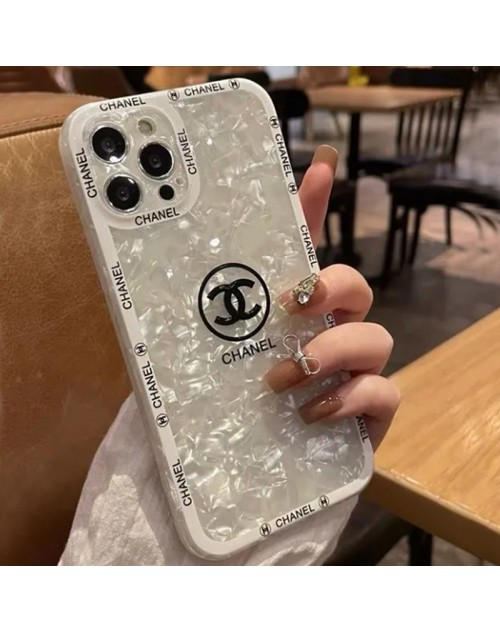 CHANEL ブランド iphone13 pro/13 mini/13 pro maxケース シャネル 韓国風 きらきら シェル柄 ジャケット型 アイフォン13/12 pro max/11/x/xs/xrケース 女性愛用 メンズ レディース