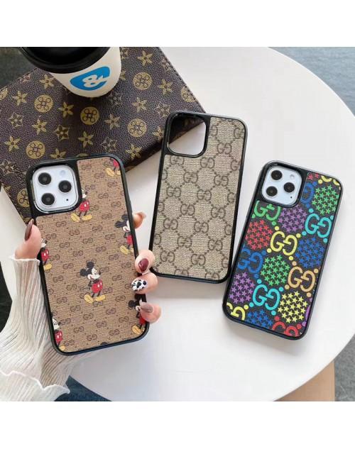 Gucci/グッチ ブランド ディズニー コラボ iphone 13 mini/13 pro/13pro maxケース 安い ジャケット型 モノグラム アイフォン13プロ/13ミニ/12/11/x/8/7カバー メンズ レディーズ