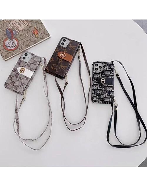 LV/ルイヴィトンブランド iphone 13 pro/13 mini/13 pro maxケース GUCCI/グッチ ストラップ付き 封筒型 ディオール/DIOR アイフォン13/12/11/se2/x/xr/xs/8/7ケース カード収納 バッグ 経典 ジャケット型 女性向け ファッション 高級 人気 メンズ レディーズ