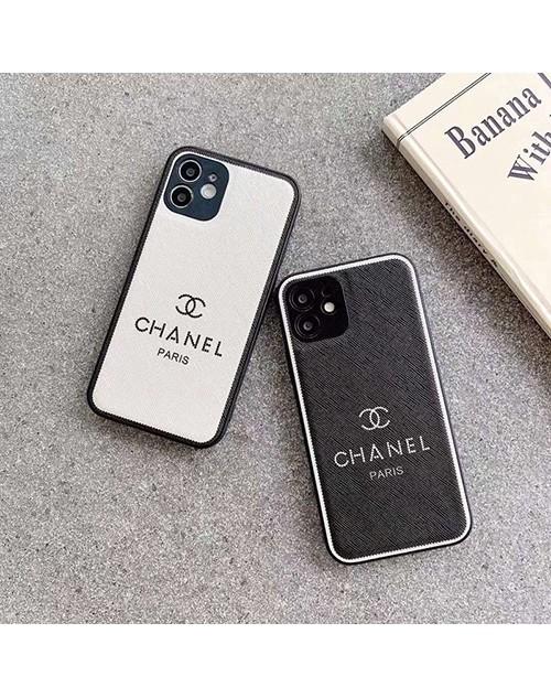 シャネル デニム風 iPhone13/12s/12 mini/13 pro maxケース ブランド おしゃれ シンプル モノグラム柄 ジャケット型 CHANEL 耐衝撃 黒白色 アイフォン12/11/xr/x/xs/8/7/se2カバー かわいい メンズ レディース