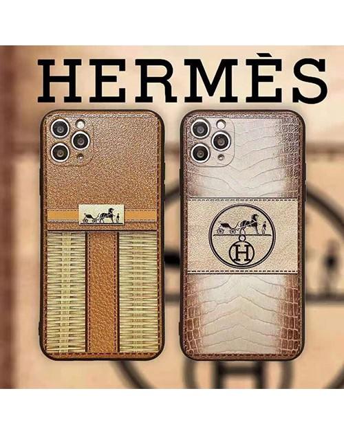 エルメス ブランド iphone 12 /12 pro/12 mini/12 pro maxケース 個性 レザー Hermes 潮流 iphone11/11pro/11pro maxケース カード入れ オシャレ 人気 iphone x/xs/xr/xs maxケース 男女兼用