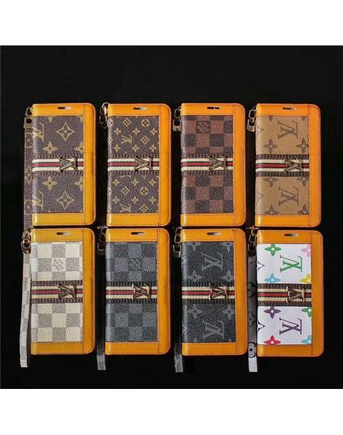 lv iPhone 11/11pro/xs/xs max/xrケース ルイヴィトン iphone x/8/7スマホケース ブランド Iphone6/6s Plus Iphone6/6sカバー 手帳型 ストラップ付き モノグラム
