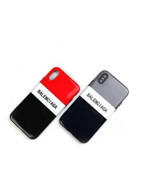 バレンシアガ iphone 12 mini/12 pro max/11 pro max/se2ケース ブランド Balenciaga テンエス アイフォン12/12 pro/11/11 proケース オシャレ 混色 個性 カップル 潮流 iPhone x/xs/xr/8/7 plusカバー ファッション レディース