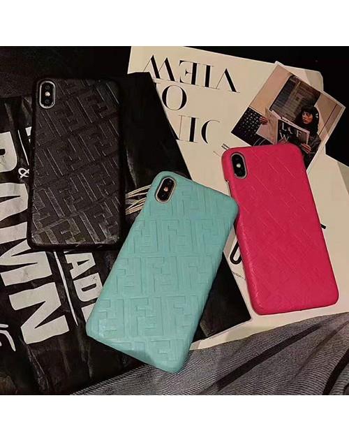 FENDI フェンデイ iphone11/11pro/11 pro maxケースブランド iphone xr/xs maxケース経典オシャレアイフォン x/8/7 plusケース女性向け 高級ファッション
