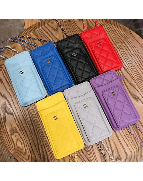 Chanel/シャネルペアお揃い アイフォン12/11ケース iphone 11/xs/x/8/7/se2ケースins風  Galaxy s10/s20+ケースケース かわいいアイフォン12カバー レディース バッグ型 ブランドhuawei mate 30 proケース大人気