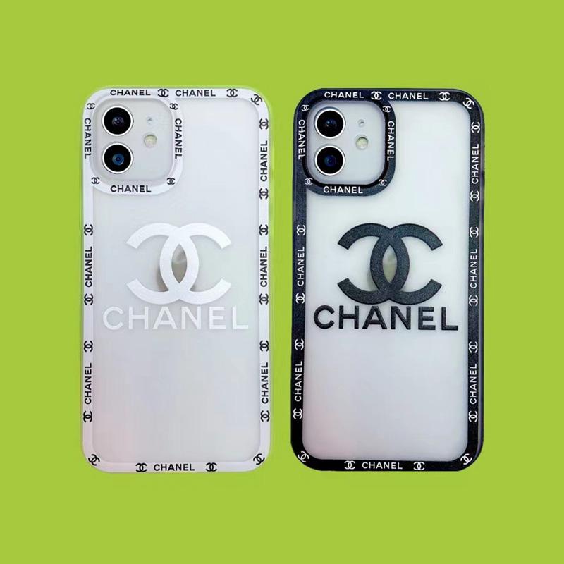 シャネル/chanel クリアケース モノグラム アイフォン13/13プロマックス/13ミニカバー 取り外し可能