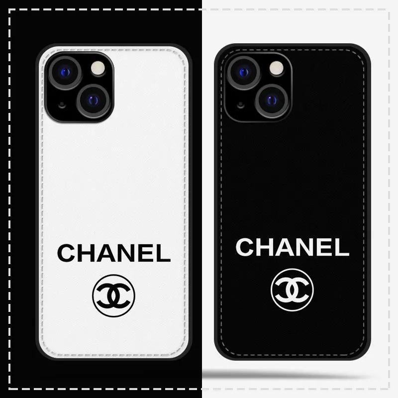 シャネル ブランド iphone 13 pro/13 pro max/13 miniケース 個性 ステッチ レザー